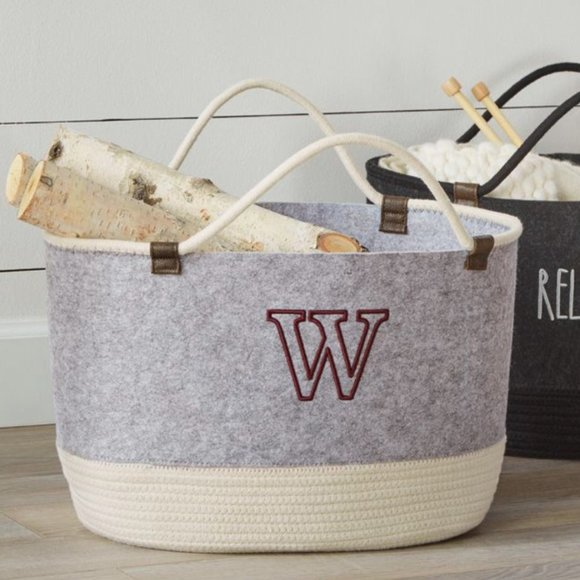 Thirty-One Other - Summer ☀️Sale NWT Felt Storage Tote